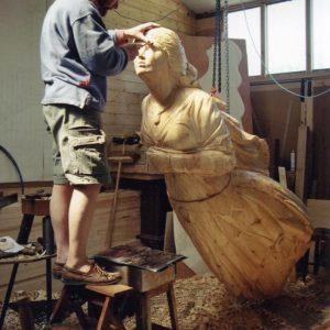 Maritma Wood Carver Andy Peters