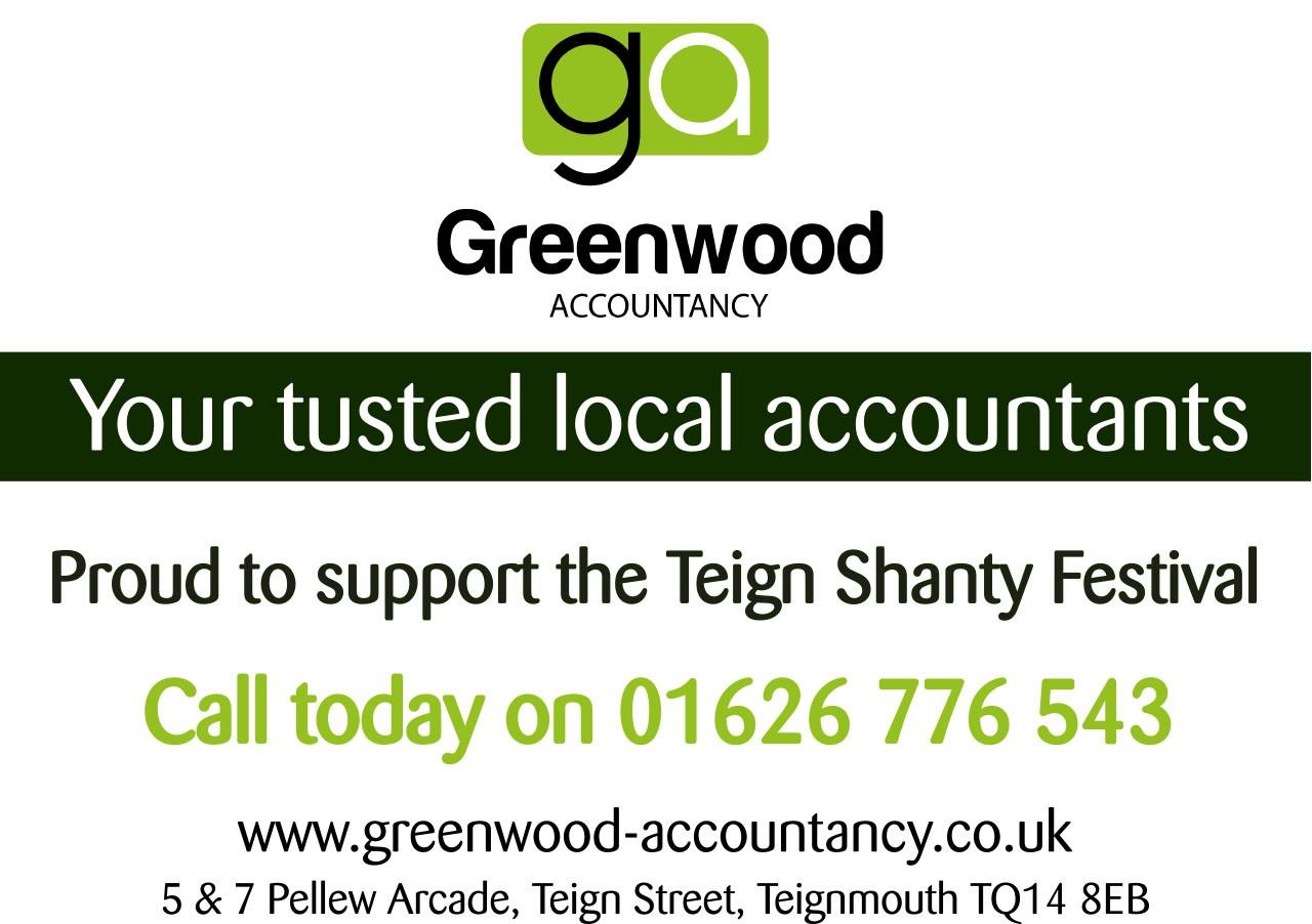 Greenwood Accountancy - Teignmouth Sea Shanty Festival 2019