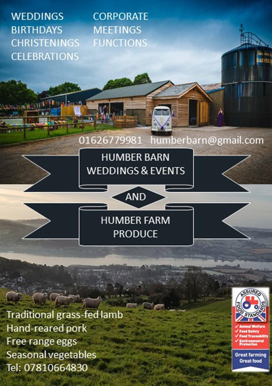 Humber Farm + Barn Advert