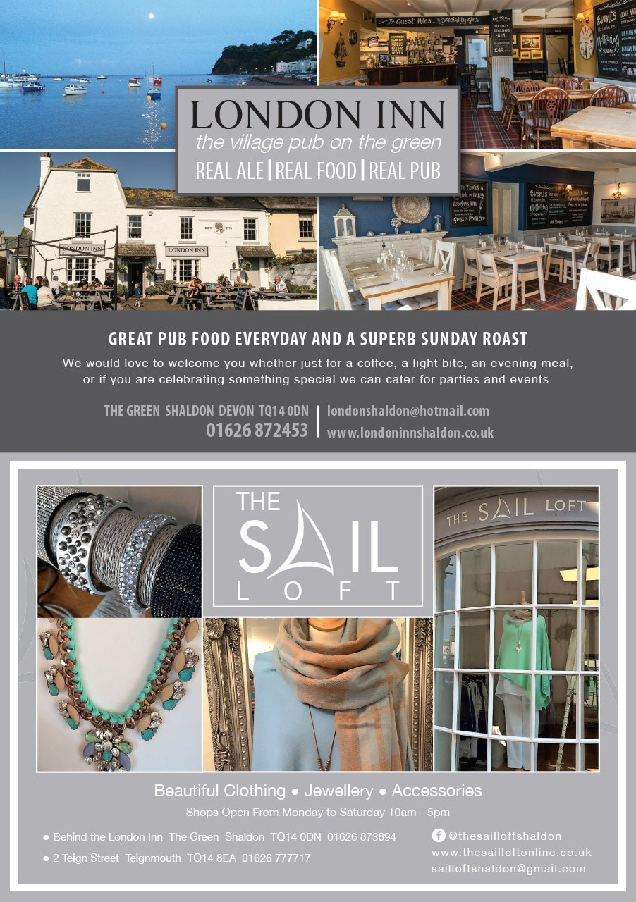 London Inn Sail Loft Ad June 2019