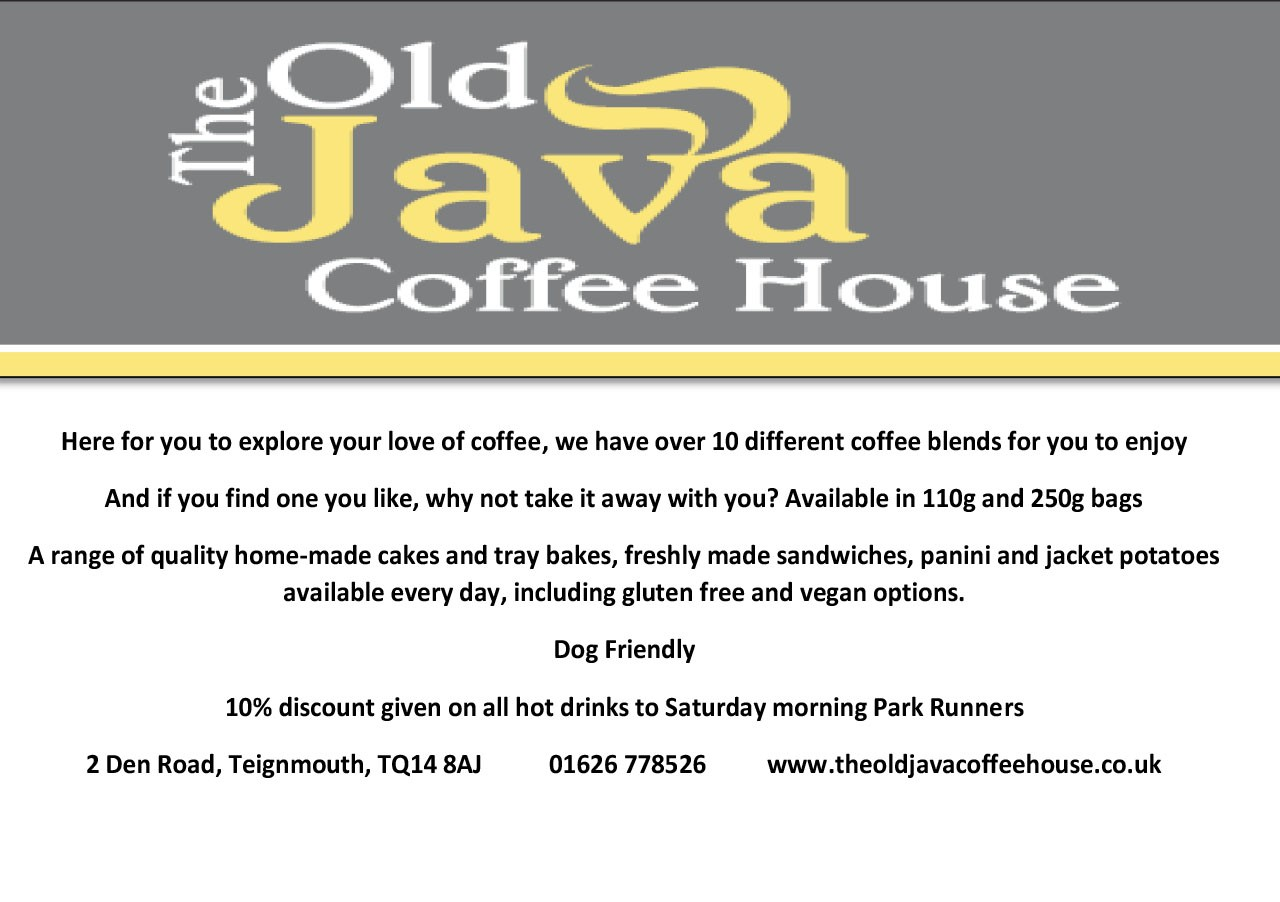 Old Java Programme advert