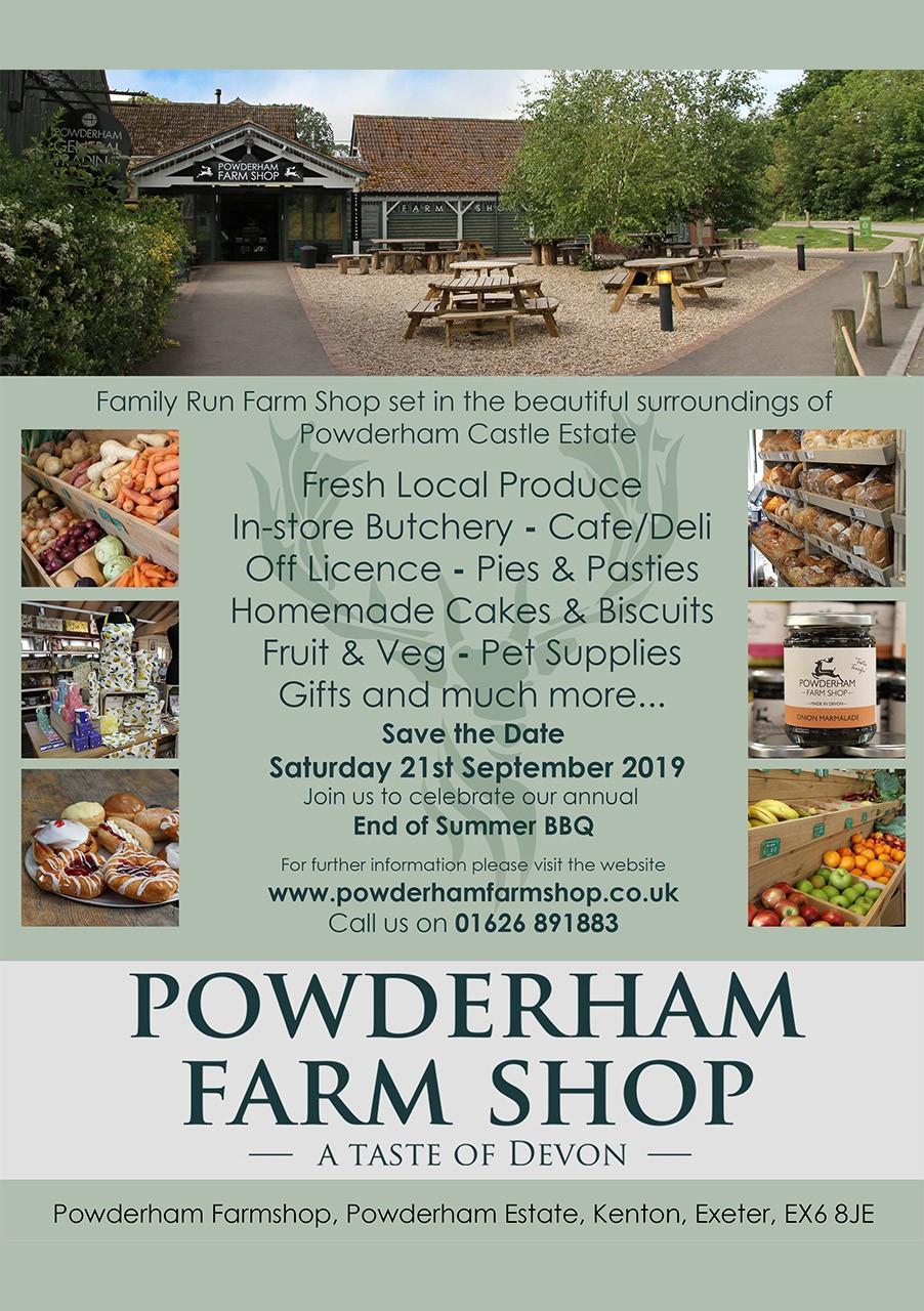 Powderham Farmshop 2019