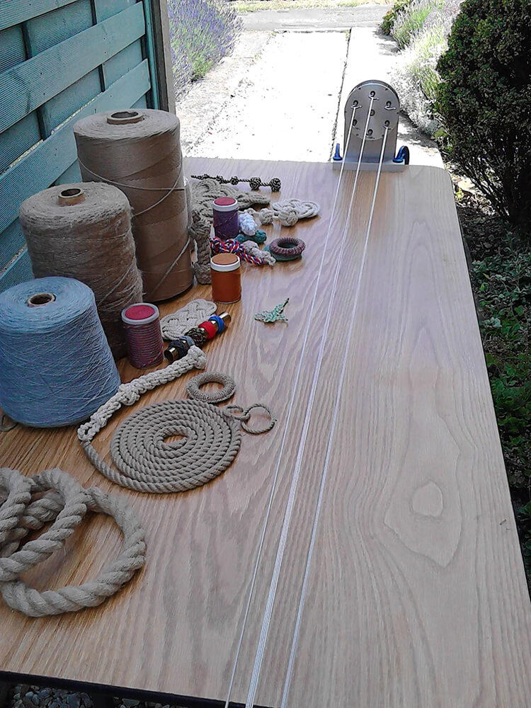 Rope making with Mark Richmond