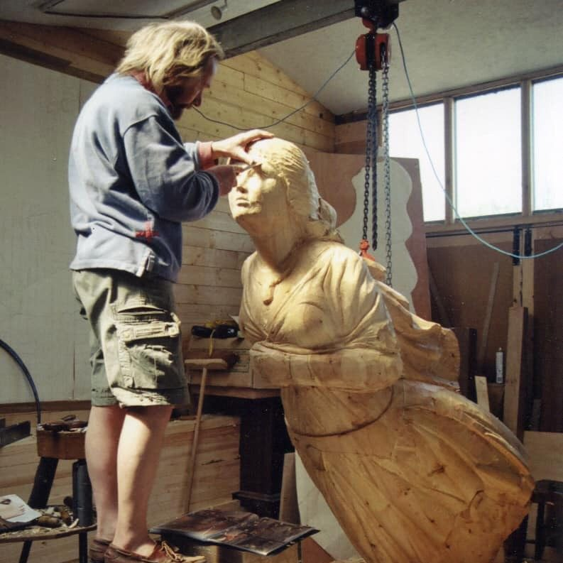 Maritma Wood Carver Andy Peters - Cropped
